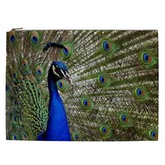 Peacock Cosmetic Bag (xxl)