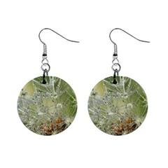 Dandelion Mini Button Earrings by Siebenhuehner