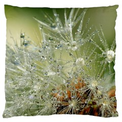 Dandelion Large Cushion Case (two Sided)  by Siebenhuehner