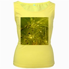 Dandelion Womens  Tank Top (yellow) by Siebenhuehner