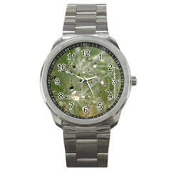 Dandelion Sport Metal Watch by Siebenhuehner