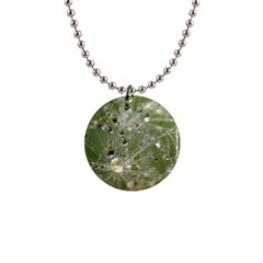 Dandelion Button Necklace by Siebenhuehner