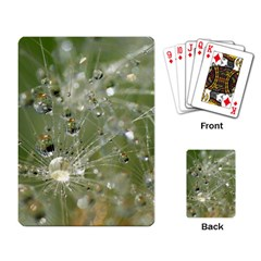 Dandelion Playing Cards Single Design by Siebenhuehner