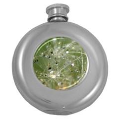Dandelion Hip Flask (round) by Siebenhuehner