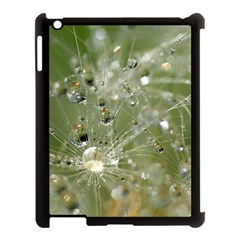 Dandelion Apple Ipad 3/4 Case (black) by Siebenhuehner