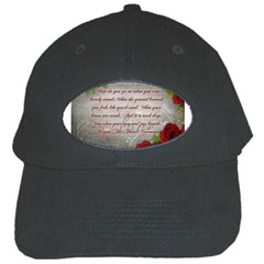 Maggie s Quote Black Baseball Cap by AuthorPScott