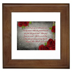 Maggie s Quote Framed Ceramic Tile by AuthorPScott
