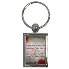 Maggie s Quote Key Chain (rectangle) by AuthorPScott