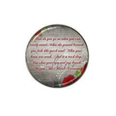 Maggie s Quote Golf Ball Marker 4 Pack (for Hat Clip) by AuthorPScott