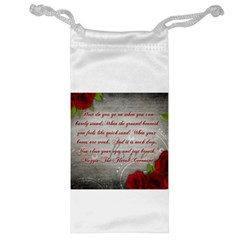 Maggie s Quote Jewelry Bag by AuthorPScott