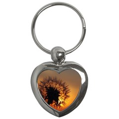 Dandelion Key Chain (heart) by Siebenhuehner