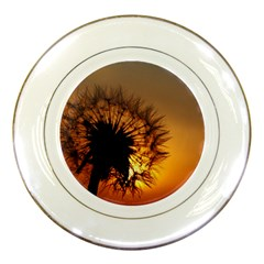 Dandelion Porcelain Display Plate by Siebenhuehner