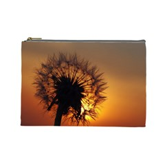 Dandelion Cosmetic Bag (large) by Siebenhuehner