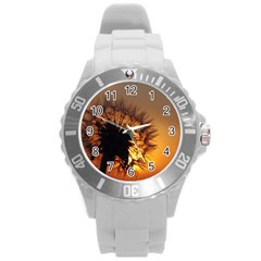 Dandelion Plastic Sport Watch (large) by Siebenhuehner