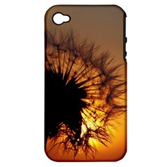 Dandelion Apple Iphone 4/4s Hardshell Case (pc+silicone) by Siebenhuehner