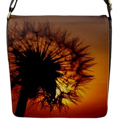 Dandelion Flap Closure Messenger Bag (small) by Siebenhuehner