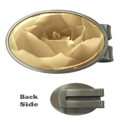 Rose  Money Clip (Oval)