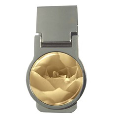 Rose  Money Clip (round)