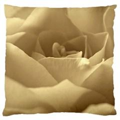 Rose  Large Cushion Case (single Sided)  by Siebenhuehner