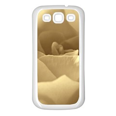 Rose  Samsung Galaxy S3 Back Case (white) by Siebenhuehner