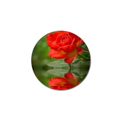 Rose Golf Ball Marker 4 Pack by Siebenhuehner