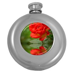 Rose Hip Flask (round)