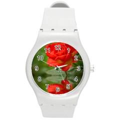 Rose Plastic Sport Watch (medium)