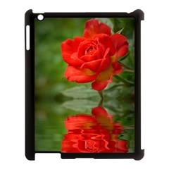 Rose Apple Ipad 3/4 Case (black) by Siebenhuehner