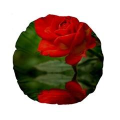 Rose 15  Premium Round Cushion  by Siebenhuehner