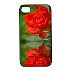 Rose Apple Iphone 4/4s Hardshell Case With Stand by Siebenhuehner