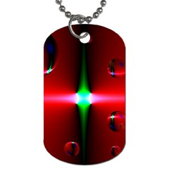 Magic Balls Dog Tag (two Sided)  by Siebenhuehner