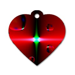 Magic Balls Dog Tag Heart (one Sided)  by Siebenhuehner