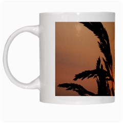 Sunset White Coffee Mug by Siebenhuehner
