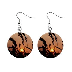 Sunset Mini Button Earrings by Siebenhuehner