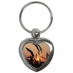 Sunset Key Chain (heart) by Siebenhuehner