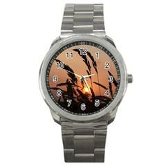Sunset Sport Metal Watch by Siebenhuehner