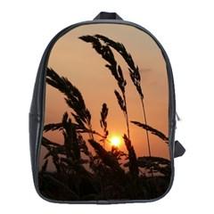 Sunset School Bag (xl) by Siebenhuehner
