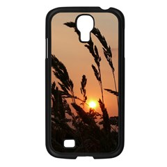Sunset Samsung Galaxy S4 I9500/ I9505 Case (black) by Siebenhuehner