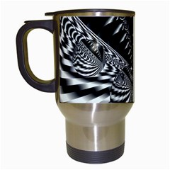 Space Travel Mug (white) by Siebenhuehner