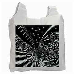 Space Recycle Bag (one Side) by Siebenhuehner