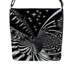 Space Flap Closure Messenger Bag (large) by Siebenhuehner