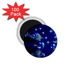 Sky 1 75  Button Magnet (100 Pack) by Siebenhuehner