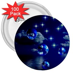 Sky 3  Button (100 Pack) by Siebenhuehner