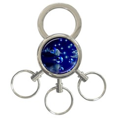 Sky 3 Ring Key Chain by Siebenhuehner