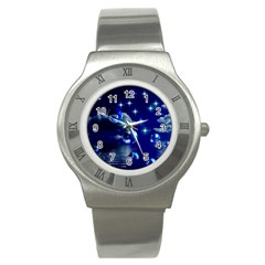 Sky Stainless Steel Watch (unisex) by Siebenhuehner