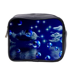 Sky Mini Travel Toiletry Bag (two Sides) by Siebenhuehner