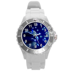 Sky Plastic Sport Watch (large) by Siebenhuehner