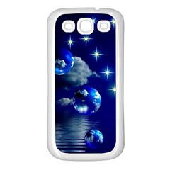 Sky Samsung Galaxy S3 Back Case (white) by Siebenhuehner