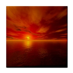 Sunset Ceramic Tile by Siebenhuehner