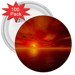 Sunset 3  Button (100 Pack) by Siebenhuehner